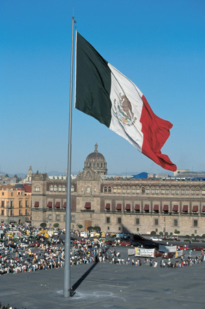 Zocalo in Mexiko Stadt